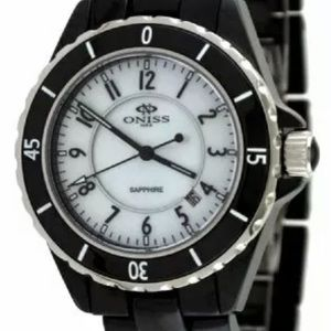 Oniss Sapphire Black Sports Watch